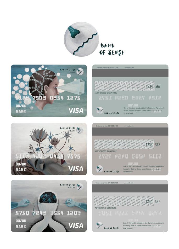 bank of sense card