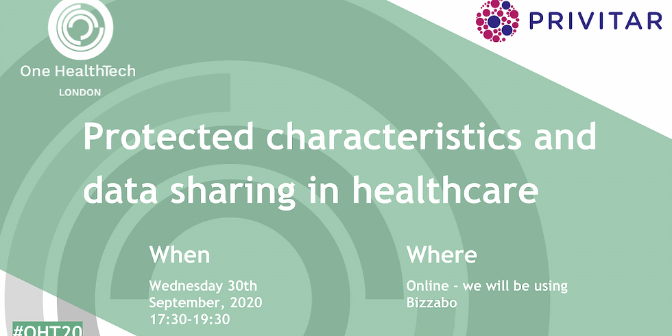 Protected Characteristics and Data Sharing in Healthcare (London)