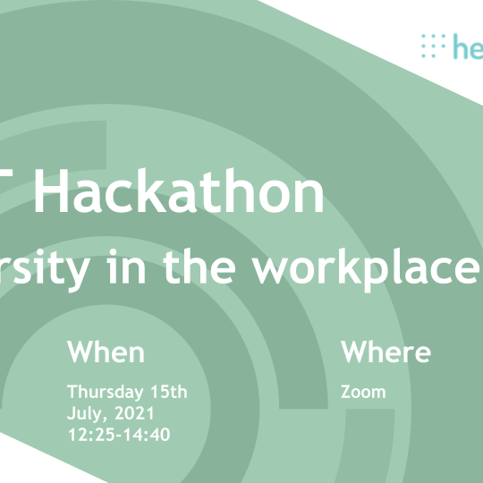 London Hub & Health Foundry Diversity in the workplace hackathon