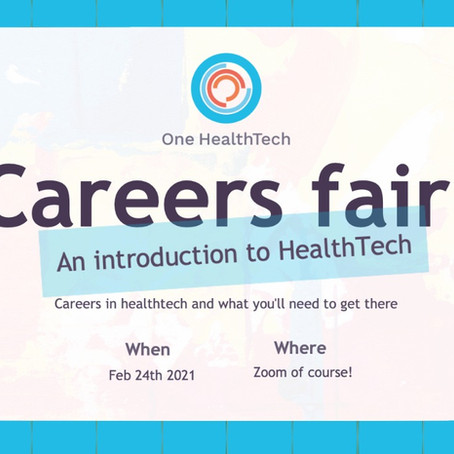 OHT Students: Join us for our first event, our Careers Fair!