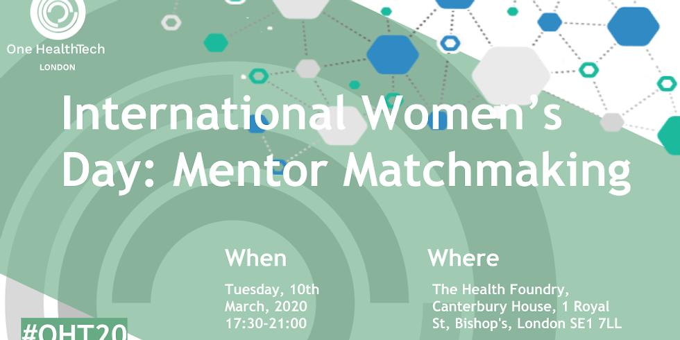 International Womens Day: Mentor Matchmaking (London)
