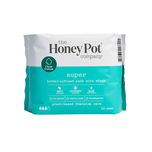The HoneyPot Co. Super Herbal Pads with Wings.