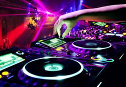 Dj Mixes The Track