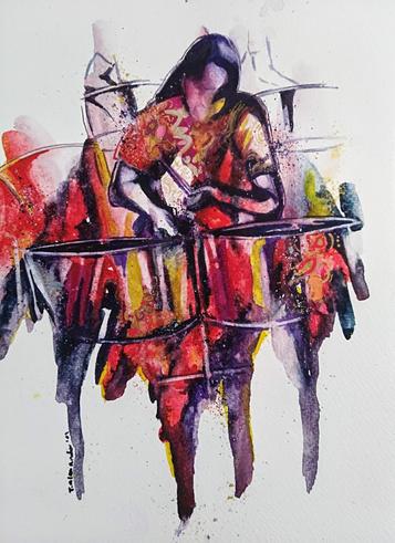 Pan player red