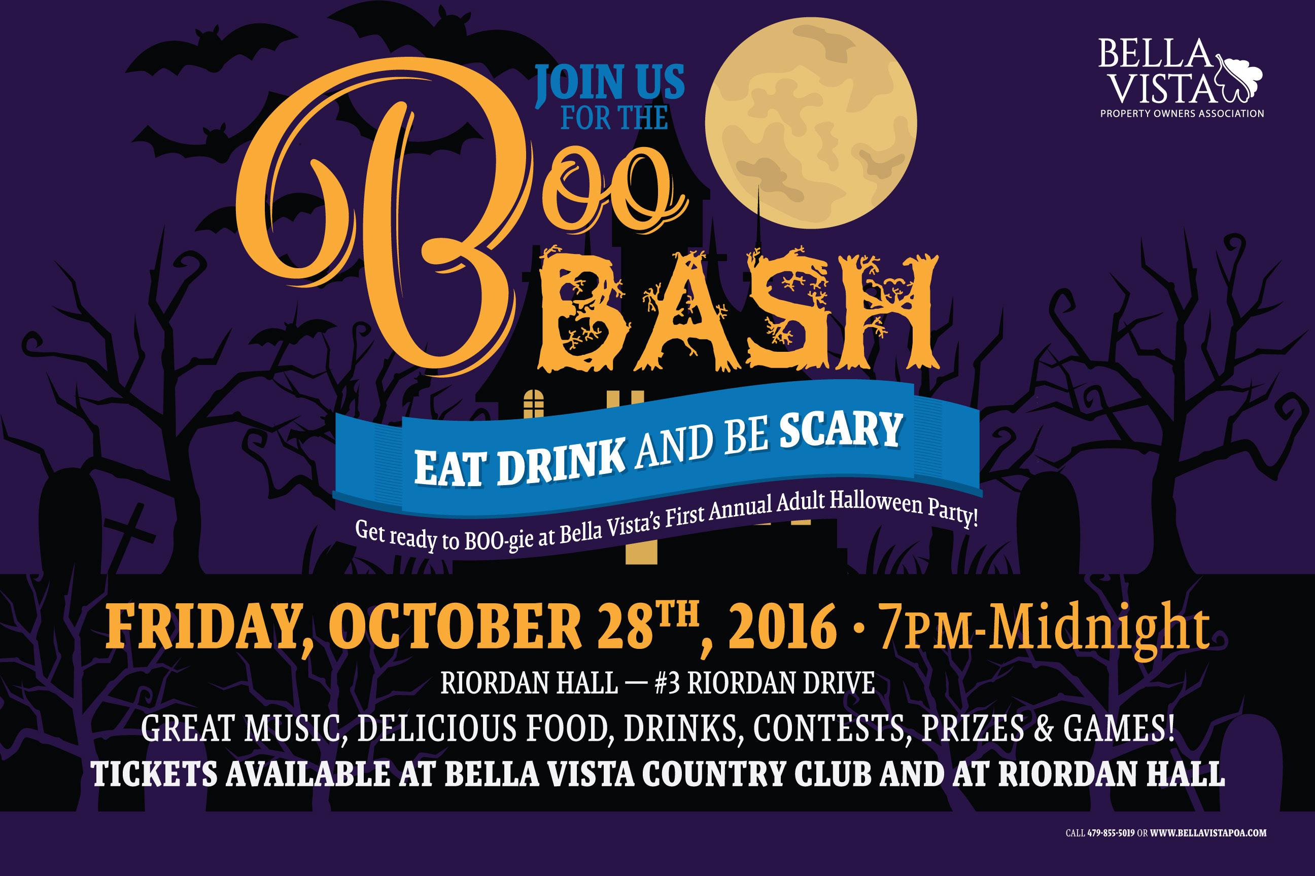 Boo Bash Halloween Banner
