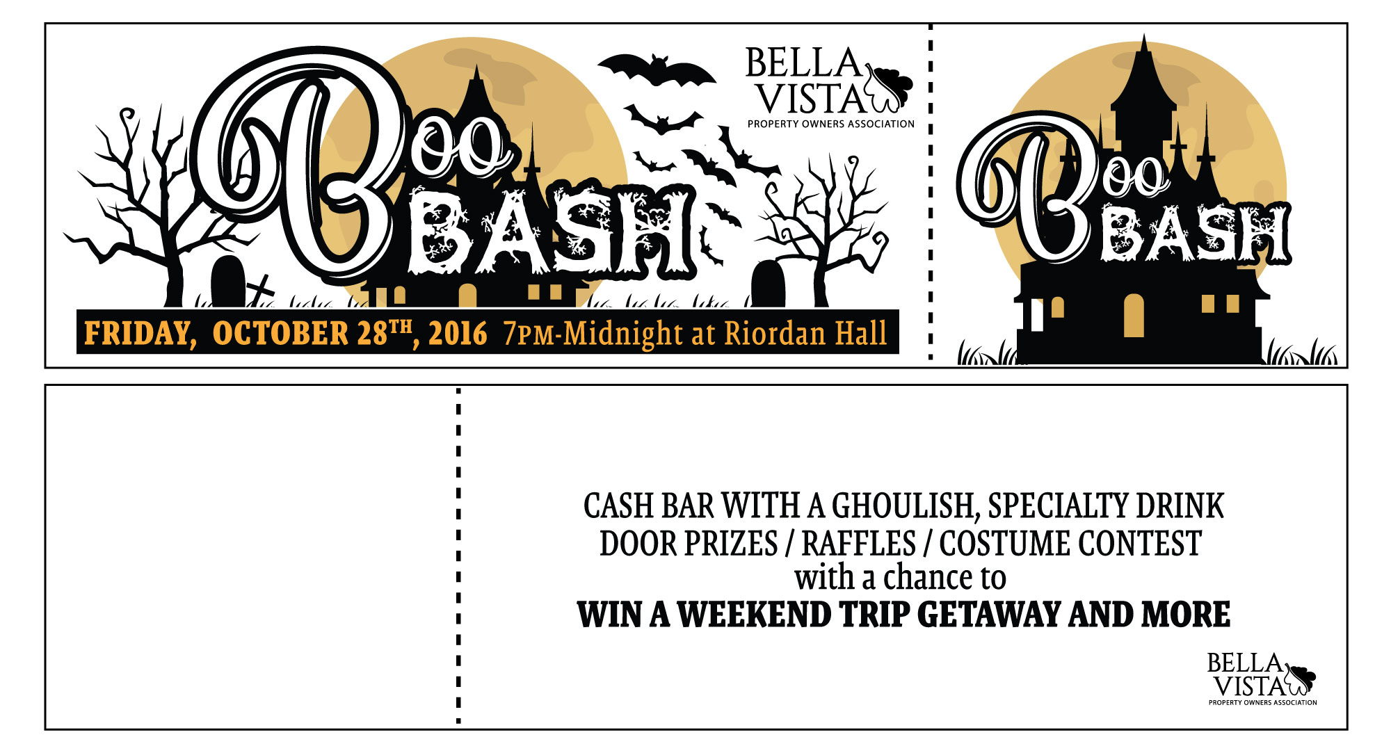 Boo Bash Tickets
