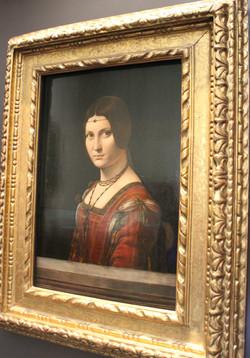 Portrait of a Woman, La Bella Ferronniere