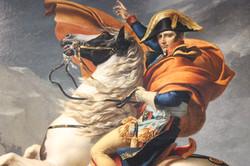 Napoleon Bonaparte Crossing the Alps on 20 May 1800