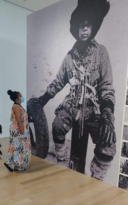 Chakaia Booker Exhibition