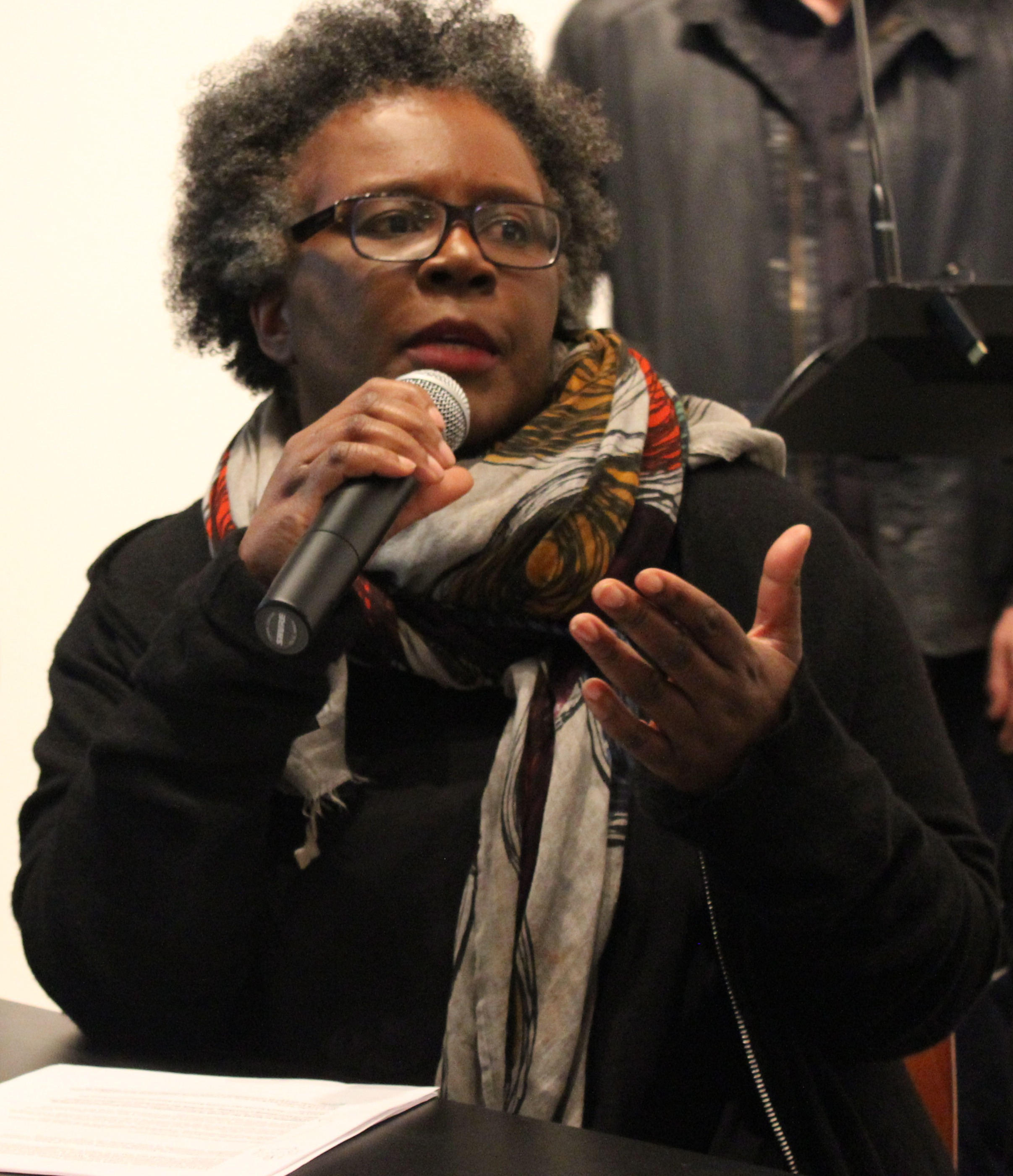 Claudia Rankine at Yale University