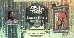 Copy of Winter Party night flyer templat