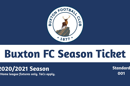 Buxton FC Concession Season Tickets