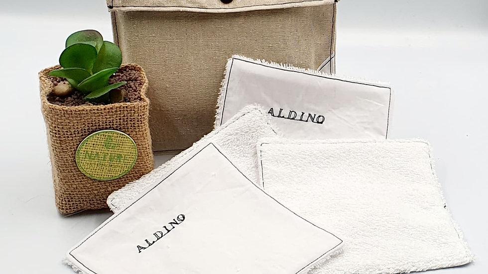 """Lingettes lavables """"ALDINO"""""""