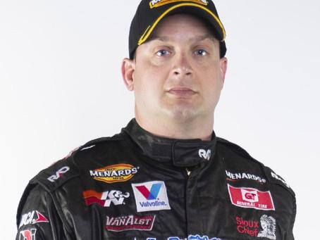 Greg Van Alst takes an upbeat approach to Kansas Speedway debut