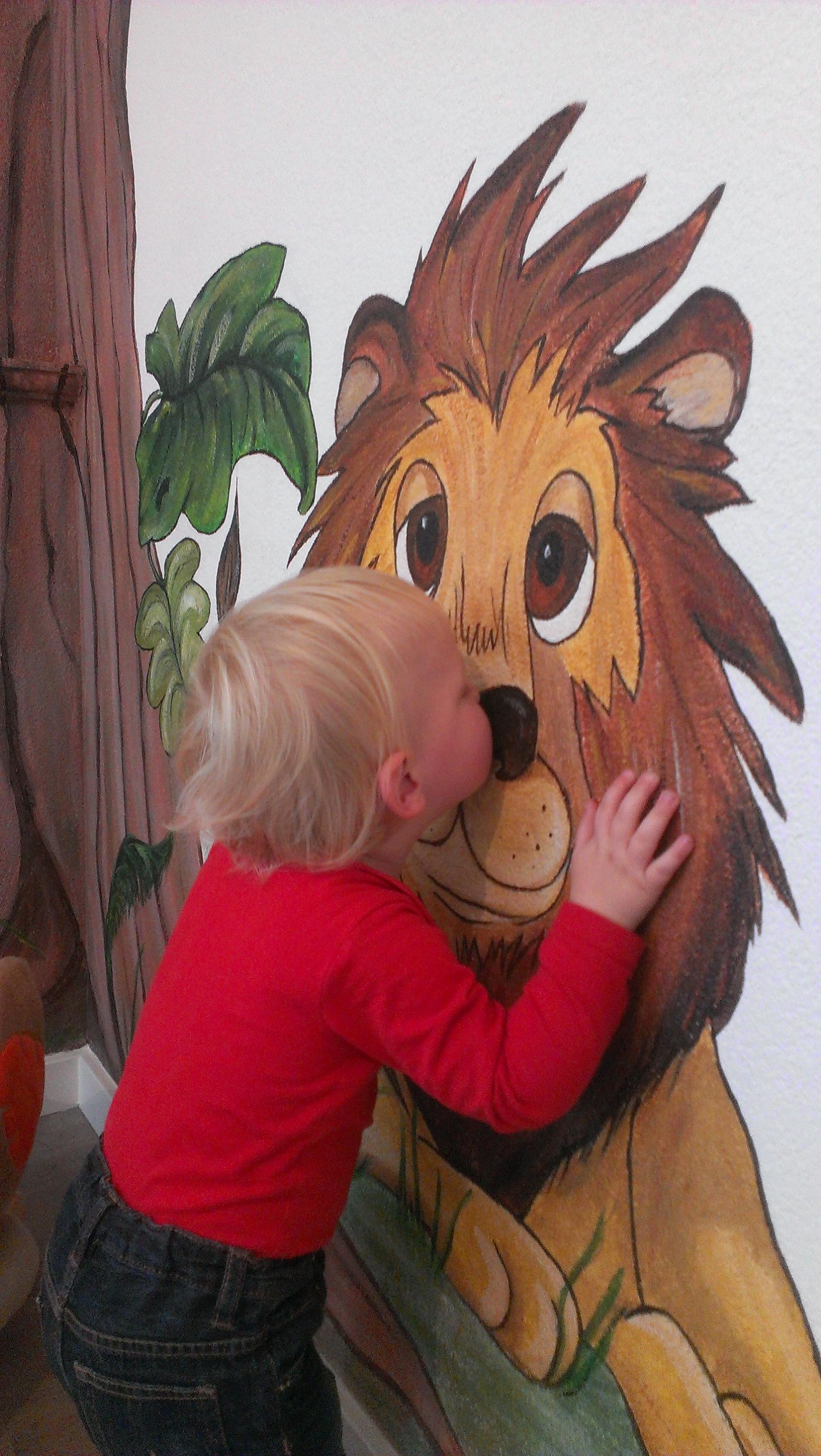 Kusje voor de Leeuw