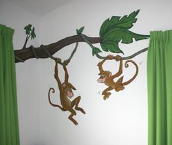 apen in de boom