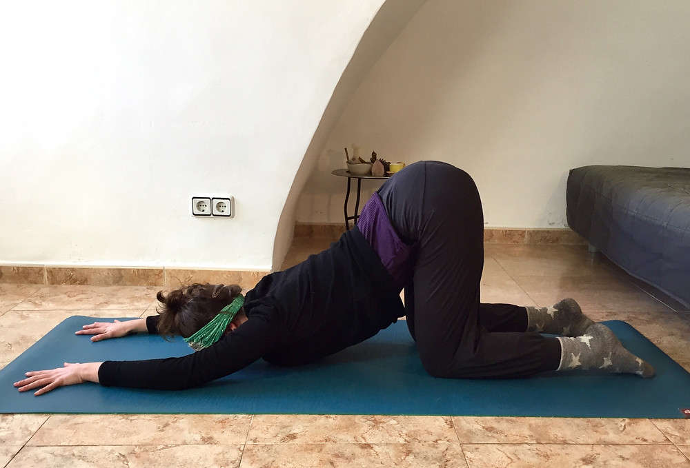 yin yoga for autumn anxiety