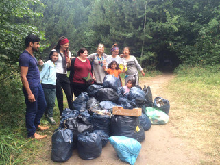 Positive People Power: Litter Pick in the Dunkirk Jungle