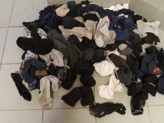 Doris & the Amazing Sock Washing System!