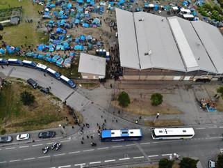 Communiqué de presse- Personnes exilées à Grande-Synthe:Les associations dénoncent une évacuation d