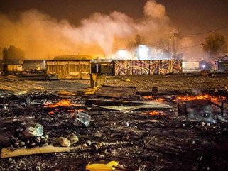 Emergency funds needed after devastating fire at Dunkirk Camp.