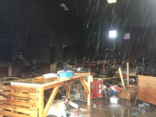 Warehouse fire: emergency donations callout