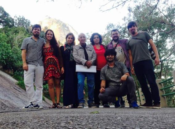 Equipe com Flávio Migliaccio