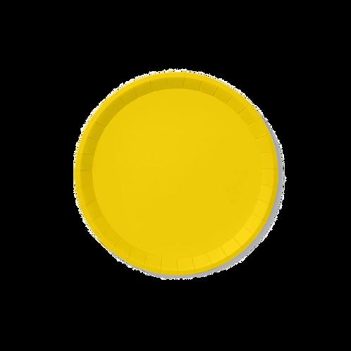 Sunshine Yellow Classic Large Plates