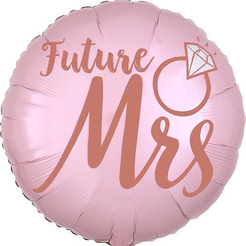Future Mrs.   She Said Yes Balloon