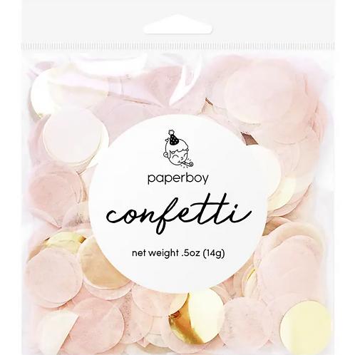 Confetti - Blush & Gold