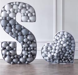Toronto Balloons | Organic Balloons | Letter Marquee
