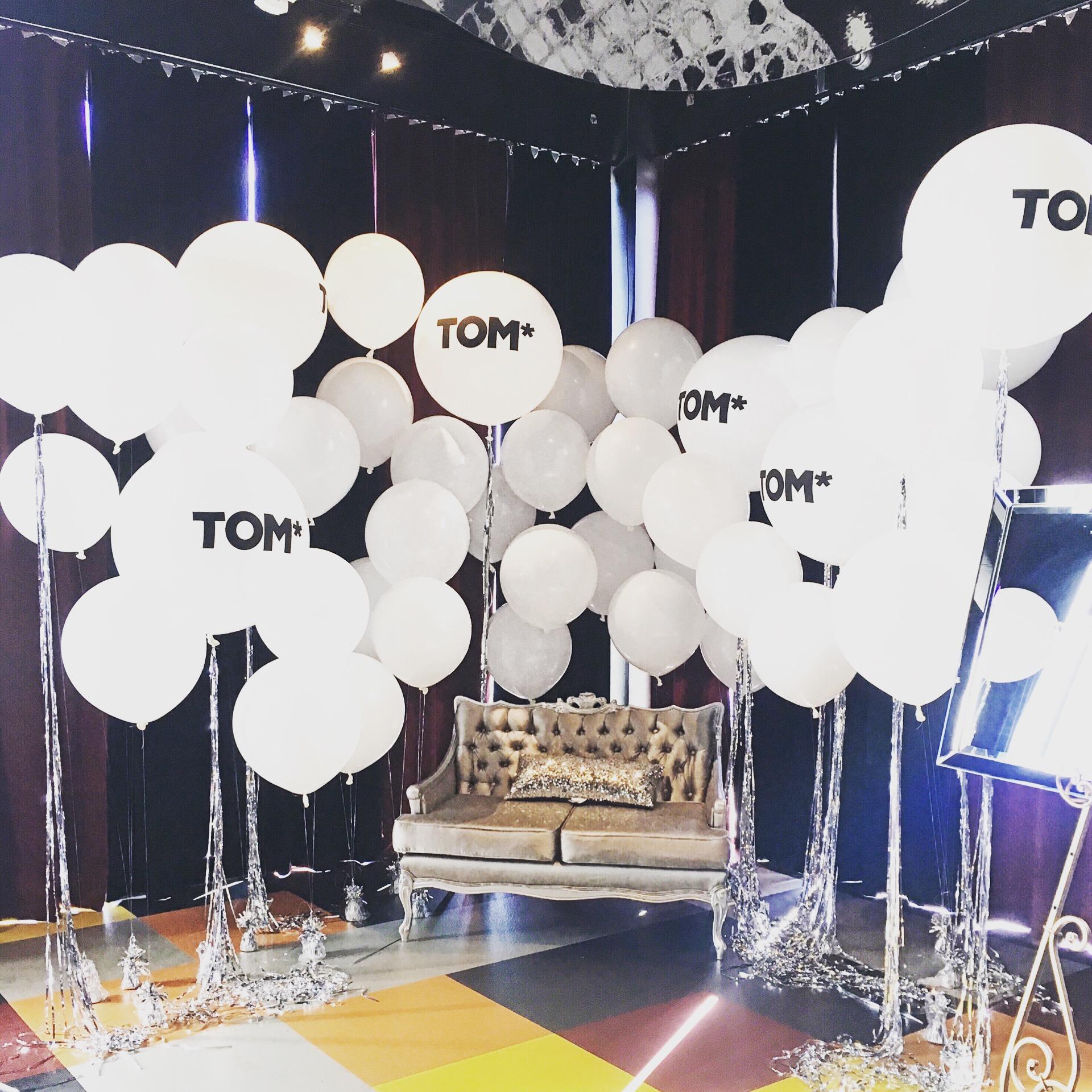 Photoshoot Balloons | Fashion Week
