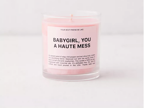 Ryan Porter Haute Mess Candle