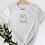 Thumbnail: Mama Bear Black Ink X Print Short-Sleeve Unisex T-Shirt | White