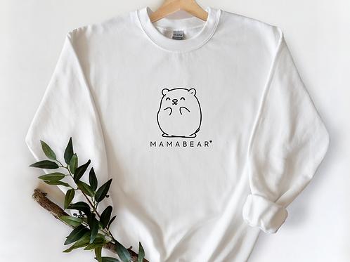 WHITE MAMABEAR Sweatshirt