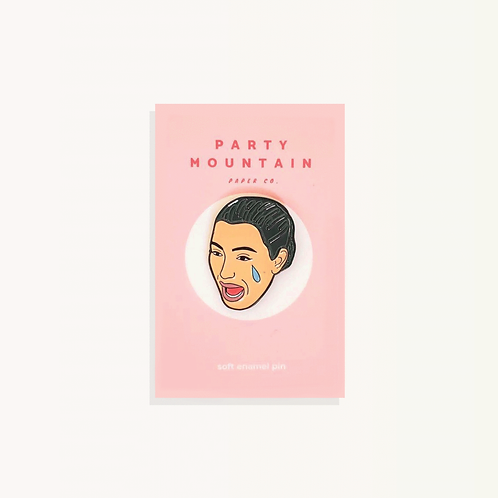 Kim K Crying Pin