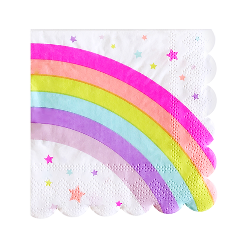 Paper Napkins Small - Rainbow