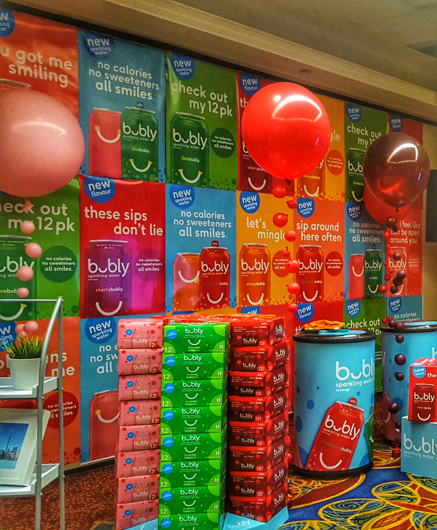 Corporate Balloons | Pepsico Bubly