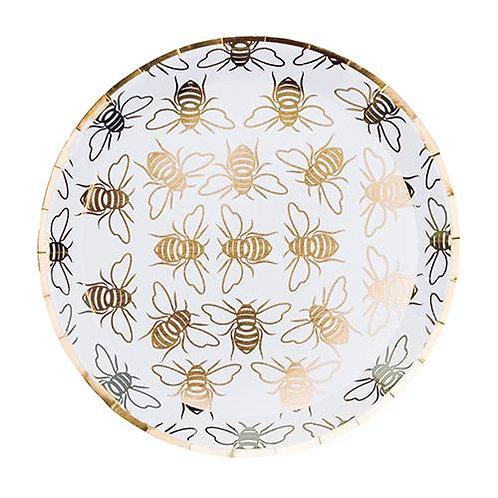 Hey, Bae-Bee Gold Foil   Desert Plates