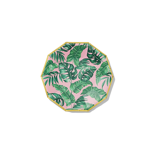 Palm Leaves Small Paper Party Plates
