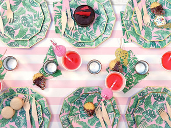 Tropical Theme Party Ideas | It's The Island Theme For Me!