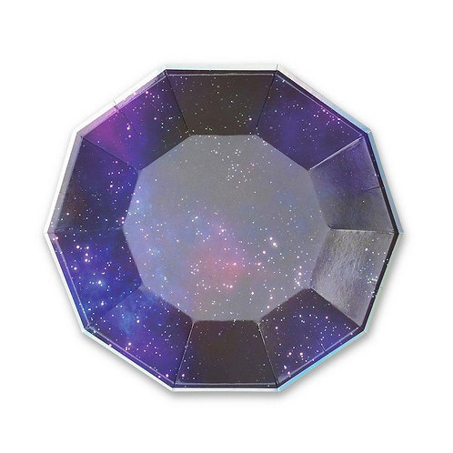 Galactic Space Large Party Plates