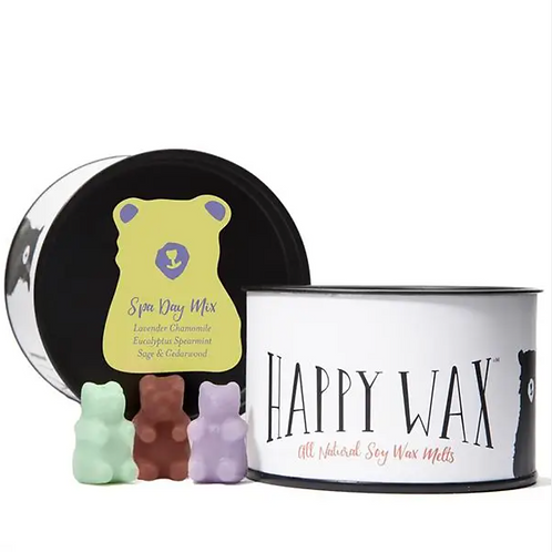 Happy Wax Spa Day Mix Wax Melts Tin