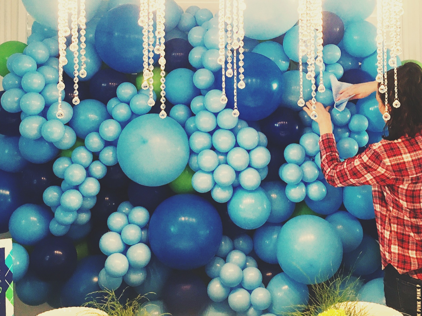 Toronto Balloon Wall | Organic