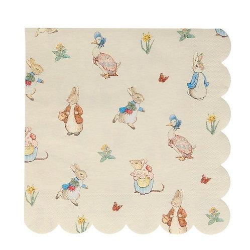 Peter Rabbit & Friends Large Napkins