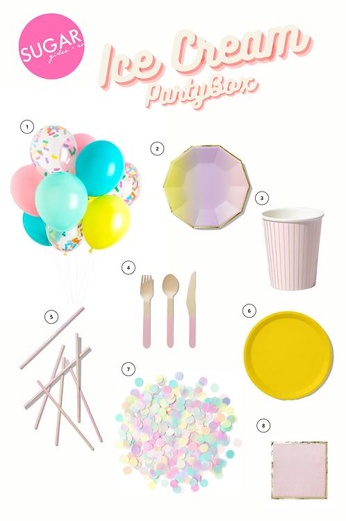 Ice Cream Party Box