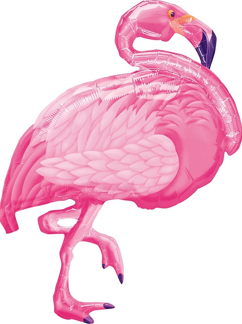 Pink Flamingo Balloon