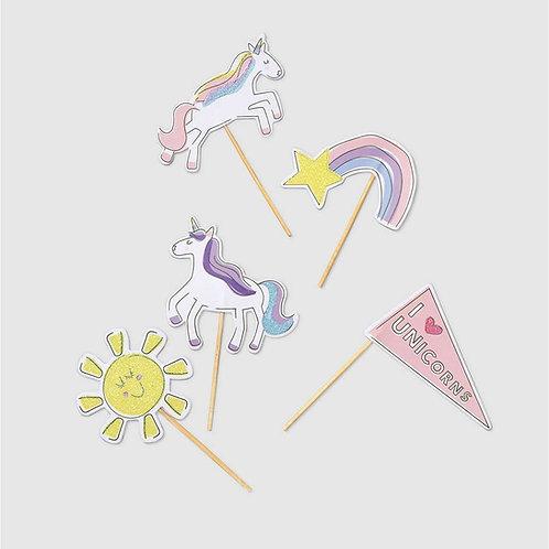 Unicorn Dreams | Mini Party Toppers