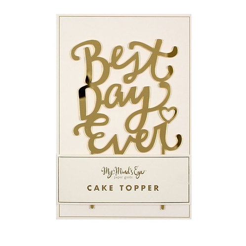 Best Day Ever | Cake Topper
