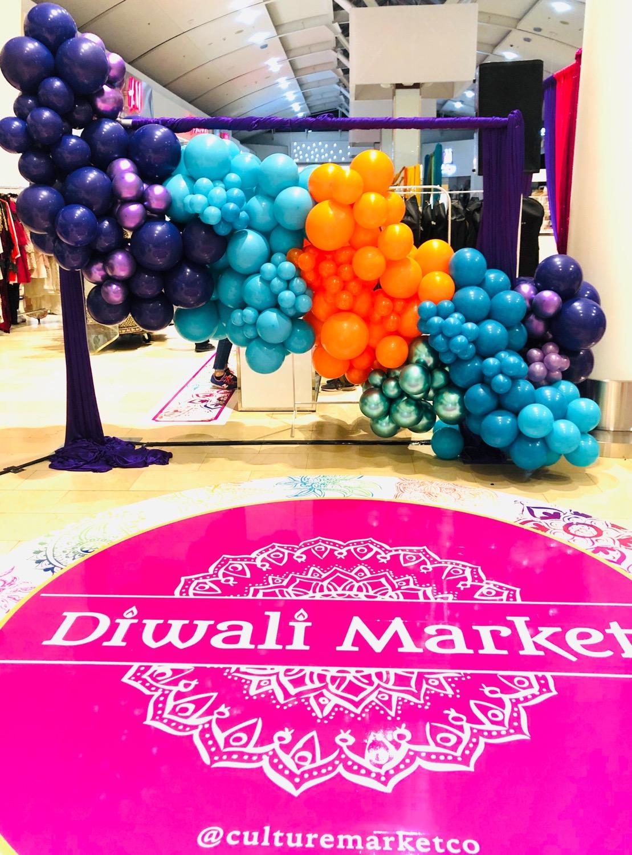 Toronto Diwali Balloon Backdrop